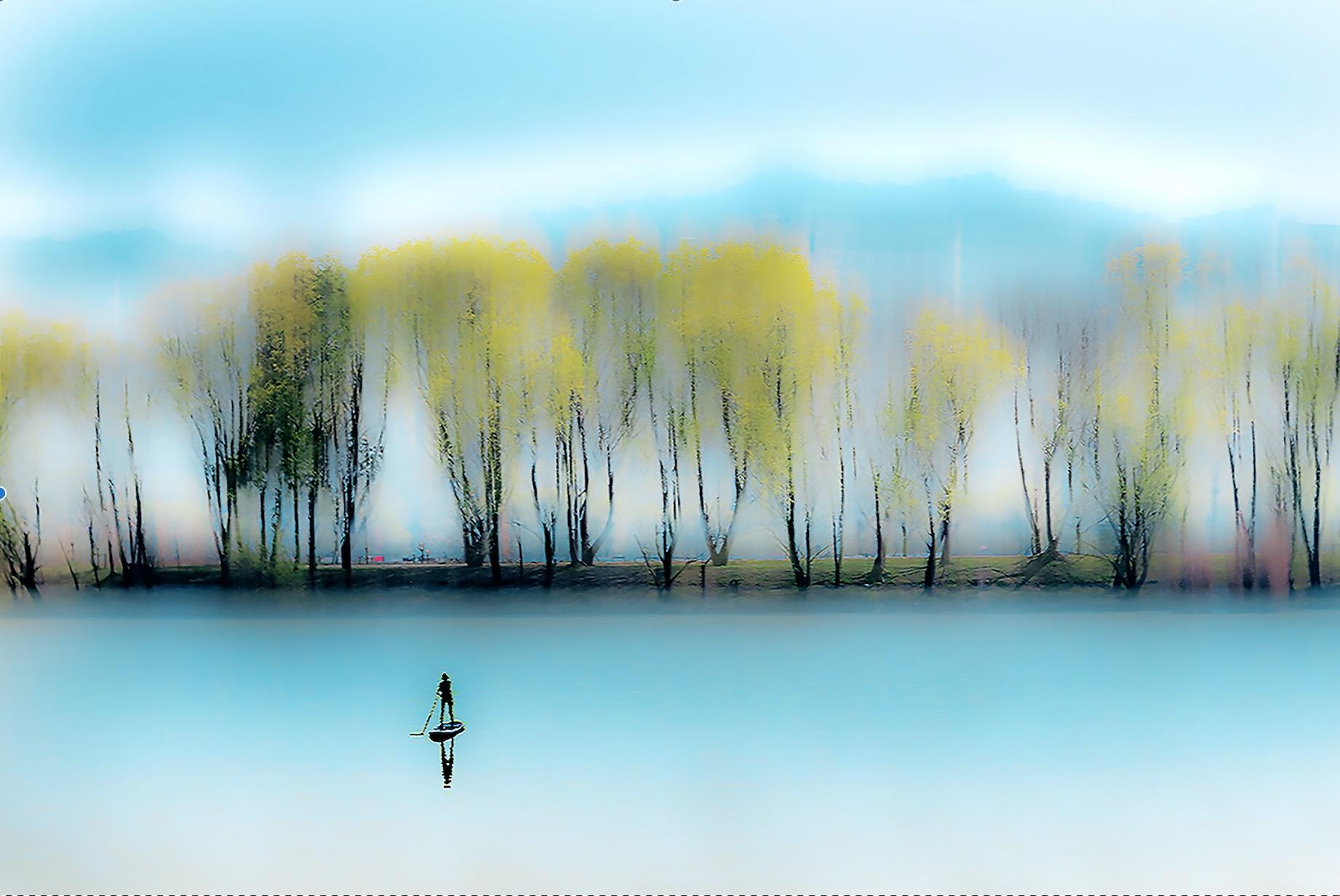 春来江水绿如蓝