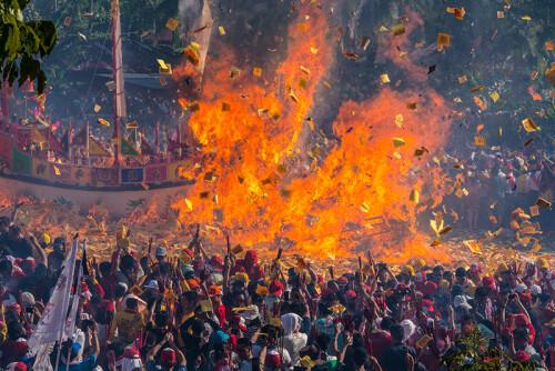 Festival Of  Bakar Tongkang